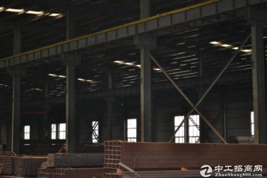 六安高速出入口附近带行车重工业钢构厂房出租