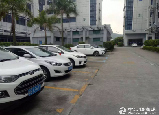 黄江标准楼上带消防喷淋580平米厂房出租