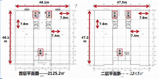 [厂房出租]广阳经开区6779平米标准厂房 带货梯-图2