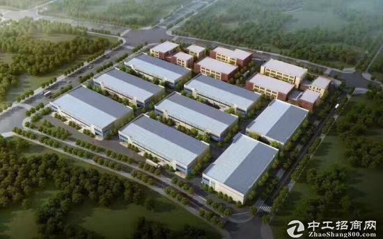 标准园区 框架厂房 钢构厂房 可架行车-图2