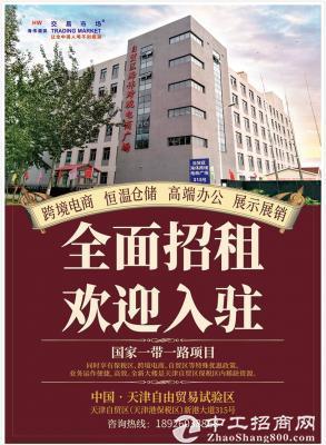 天津自贸区办公保税仓储跨境电商广场出租