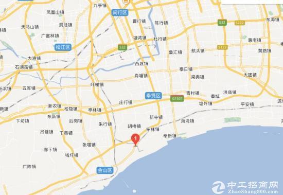金山漕泾2300平单层带行车仓库出租