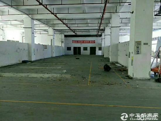 龙华大浪新百丽附近一楼高度5.5 厂房 650平米