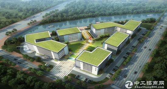 (出租)园区全新独栋厂房10378平米 带配套楼-图3