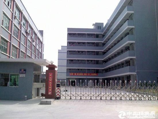 坪山大工业区旁独栋厂房楼上2200平直租