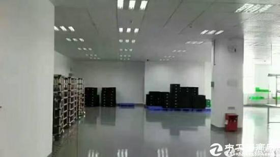 坪山大工业区旁独栋厂房楼上2200平直租-图3