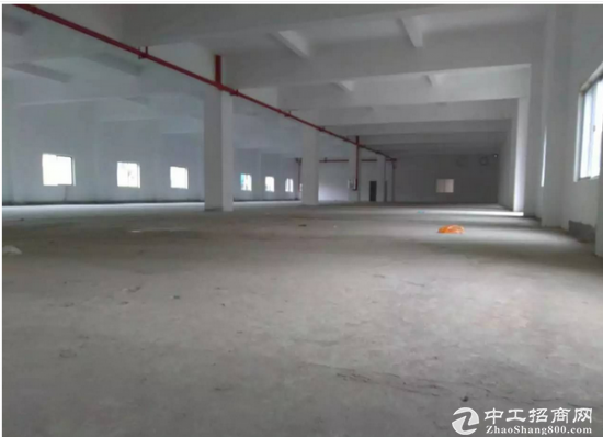 高埗下江城标准厂房一楼1200平现成水电装修