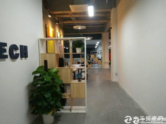 新出龙华新区园林风格科技产业园2450平厂房招租