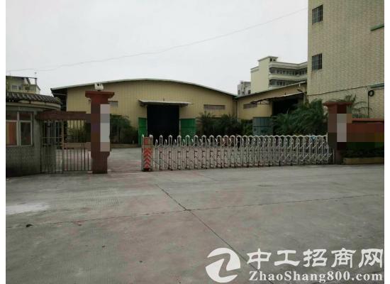 茶山镇单一层钢结构厂房5800平方米,低价出租
