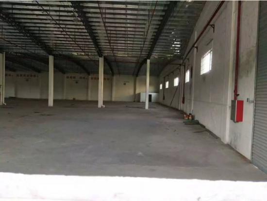 观澜新出单一层钢构厂房有消防喷淋3000平招租