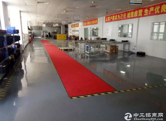 观澜梅观高速出口新出三楼600平米精装办公室厂房出租
