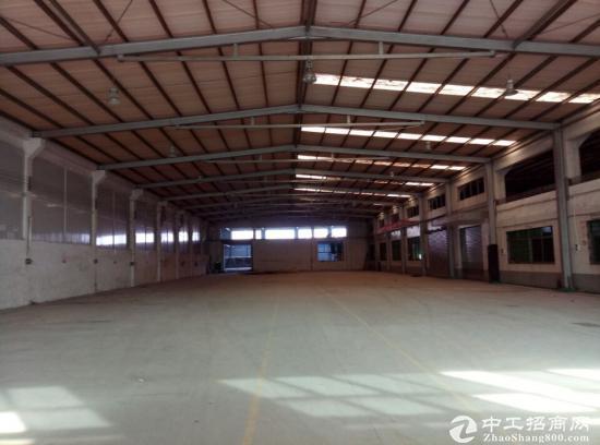 港口3285平方8米高钢架厂房出租