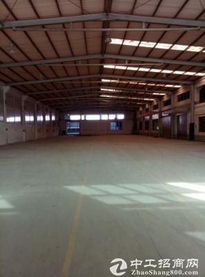 港口3285平方8米高钢架厂房出租-图2