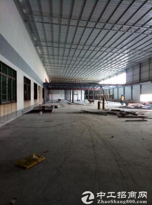 港口3285平方8米高钢架厂房出租-图3