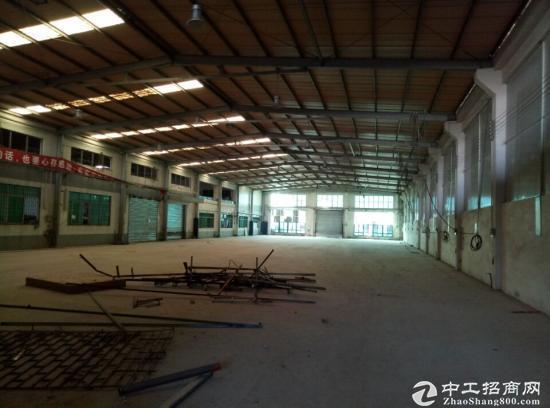 港口3285平方8米高钢架厂房出租-图4