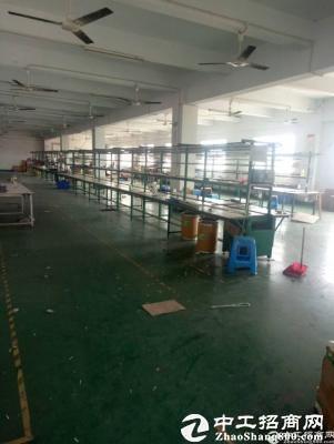 龙岗新生带装修厂房1100平米低价出租-图3