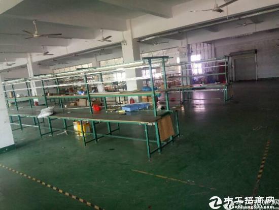 龙岗新生带装修厂房1100平米低价出租