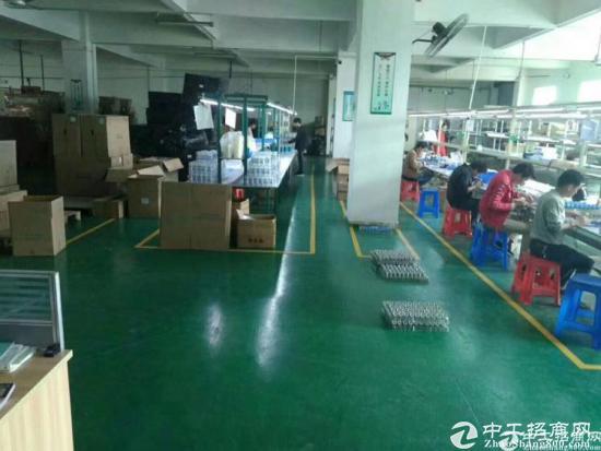 横岗六约永湖地铁站独院二楼精装修1200平米厂房-图3