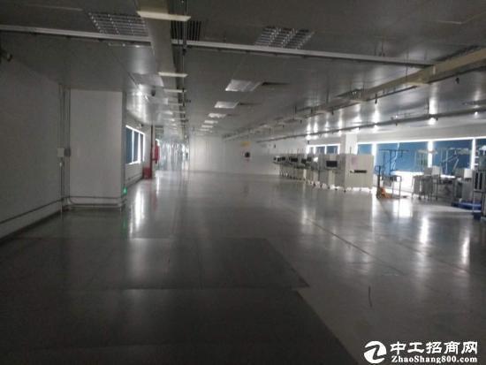 坪山大工业区新出楼上现成净化车间6100平招租-图2