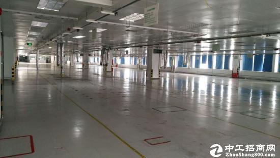 坪山大工业区新出楼上现成净化车间6100平招租