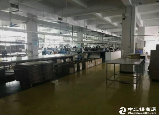 厚街镇新塘广场周边楼上3100平带装修标准厂房消防齐全-图3