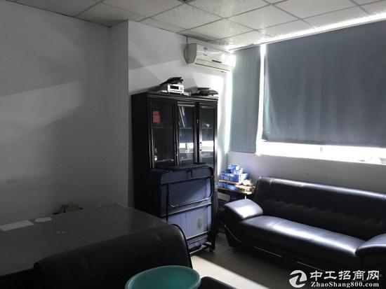 横岗地铁站228工业区三楼500平带装修办公室出租-图6