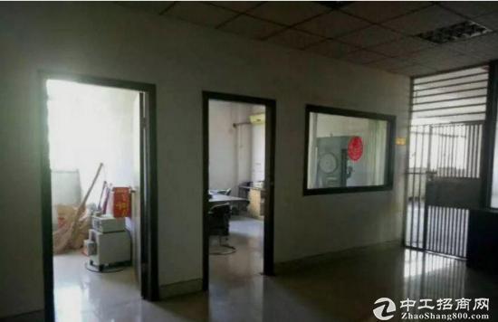 沙井马鞍山标准二楼1080厂房带地坪漆出租八成新-图2