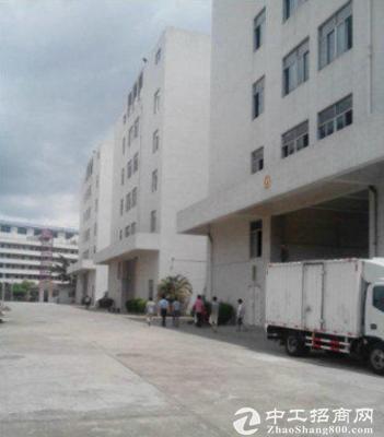 沙井马鞍山标准二楼1080厂房带地坪漆出租八成新