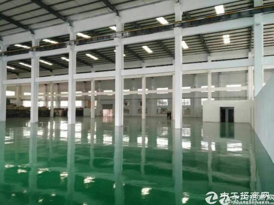 厚街镇新出钢构滴水12米高厂房5500平方米出租-图2