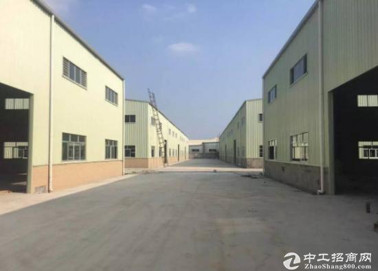 厚街钢构厂房1500平方宿舍按需,空地大,可进货车
