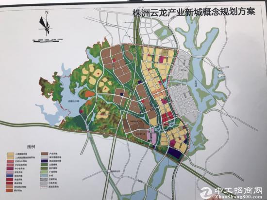 湖南株洲市云龙国有土地200亩出售