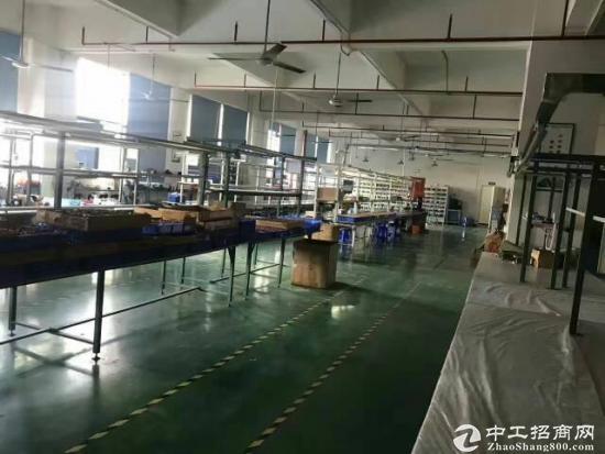 坪山石井工业园楼上新出600平米厂 带装修 无公摊-图4