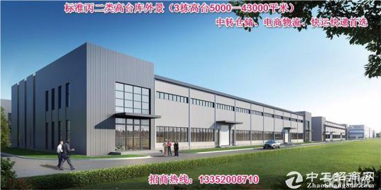 天津外环新建43000平米丙二类高台库-图3