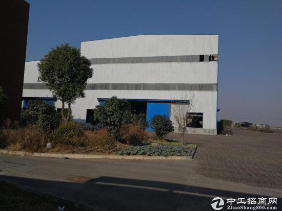 黄冈团风工业园新出20000平钢结构厂房 可分租-图3