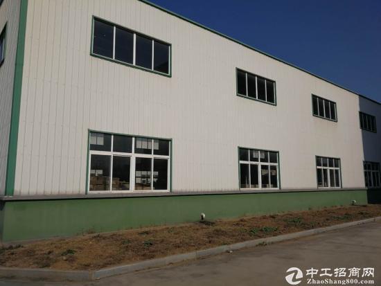 团风园区单层钢结构厂房 2000平 配套办公用房-图2