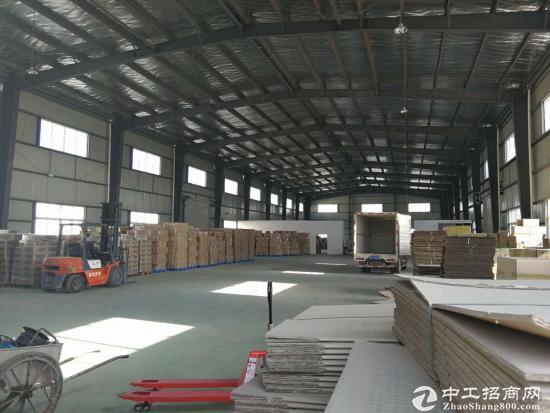 团风园区单层钢结构厂房 2000平 配套办公用房-图4