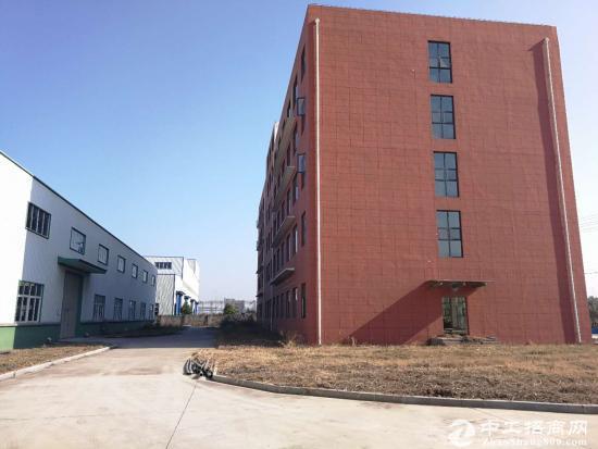 团风园区单层钢结构厂房 2000平 配套办公用房-图3