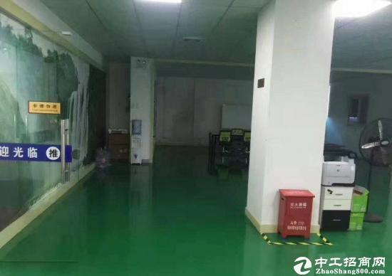 爱联 嶂背标准厂房1560平米出租 地坪漆