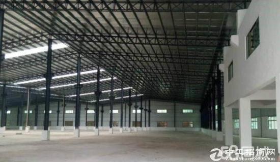 横沥镇1000平方钢构厂房招租