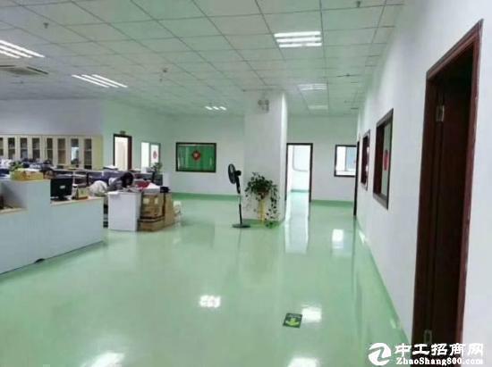 龙岗南联新出楼上1200平米精装修厂房出租