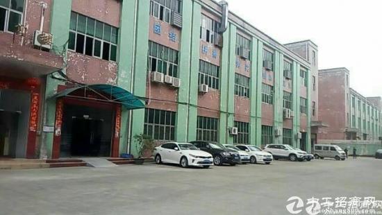 松岗107国道边新出2楼800平精装修厂房只租15元