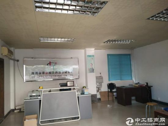龙岗中心城新出单层面积950平米厂房带精装修出租