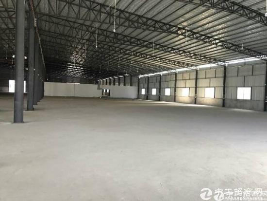 石湾镇新出独门独院钢结构厂房开始招租 钢结构滴水8米高