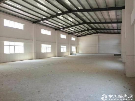 厚街靠道滘原房东出租2600平方钢构厂房