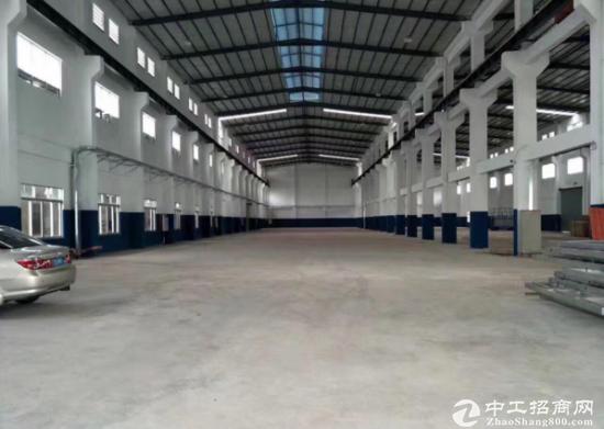 龙岗坪地工业园4800平钢构大小分租