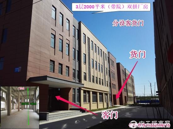 【有房本,可环评】北辰开发区2000平独栋厂房租售