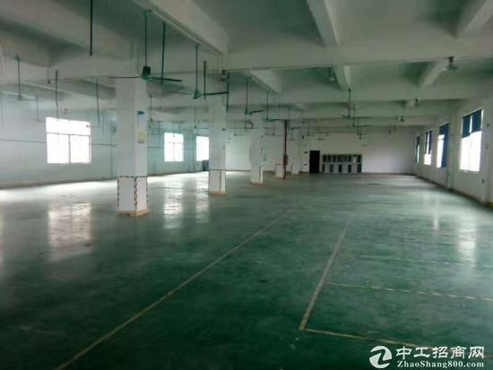 茶山镇横江工业区楼上1200平方厂房招租