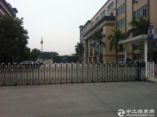 大岭山花园式厂房4800平方米有红本无纠纷业主低价急售