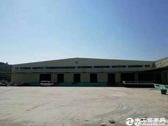 观澜靠塘厦高速口旁新出20000平米独院钢构厂房出租