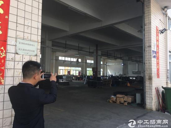 坪山 宝山工业区标准厂房一楼460平带装修实际面积